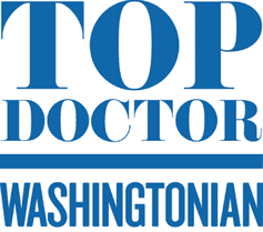 top doctor badge washingotnian without a year
